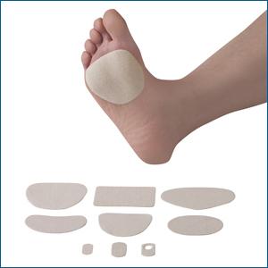 moleskin foot blisters