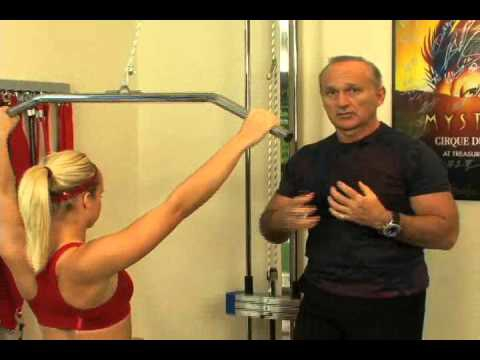 Post Rotator Cuff Surgery - Lat Pull Down Exercise