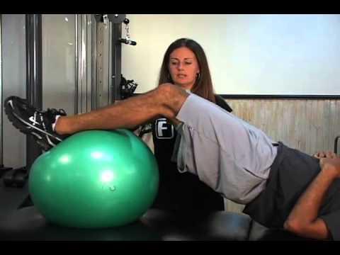 Advanced Hamstring Exercise w/ Ball