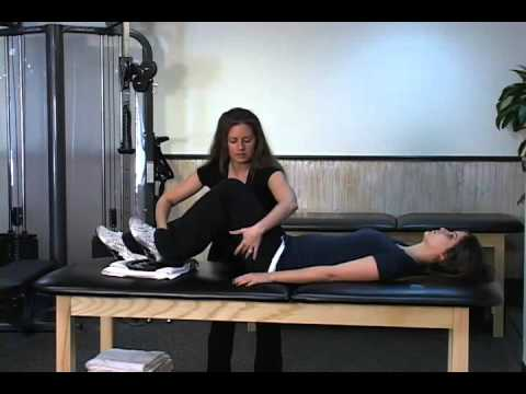 Hamstring Exercises - The Plate Drag