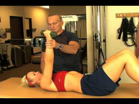 Rotator Cuff Post Surgery Exercises - Bench and Reach