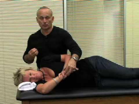 Shoulder Flexibility Test - Posterior Capsular (Back of Shoulder)