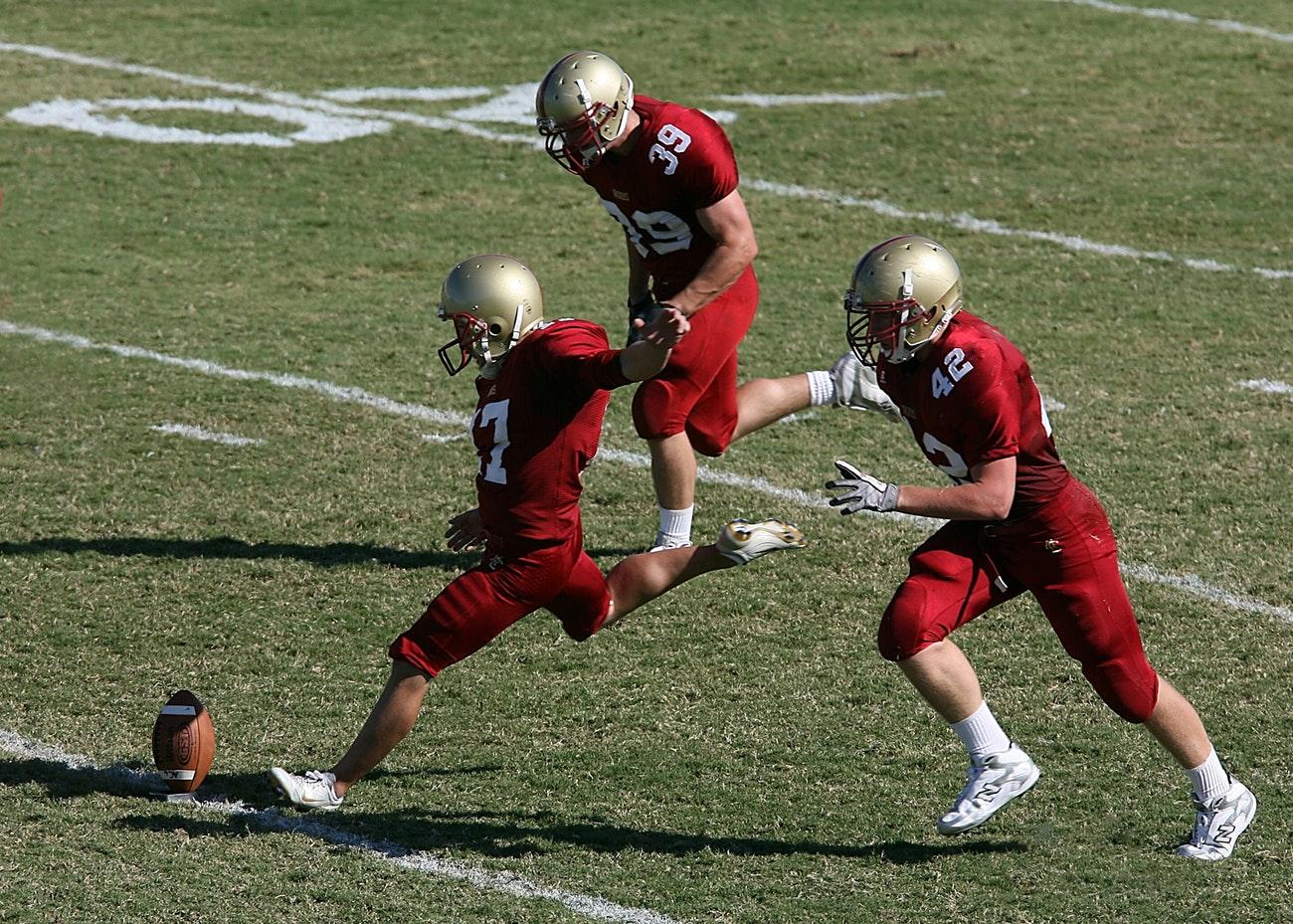 Football Kickoff (Unsplash-Keith Johnston)
