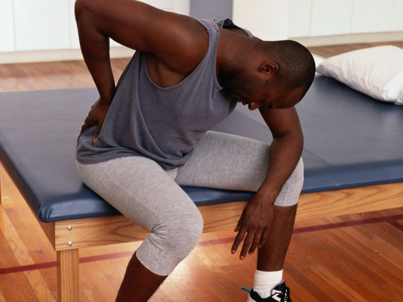 lower back pain athlete