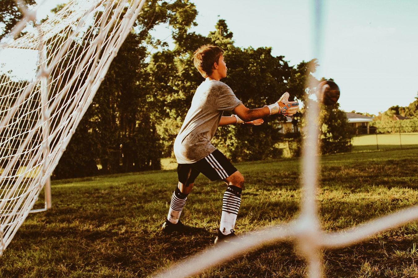 Soccer Goalie (Unsplash-Baylee Gramling