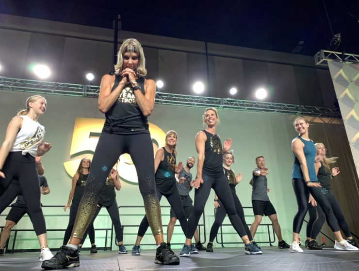 Judi at finale – with hands in praying position