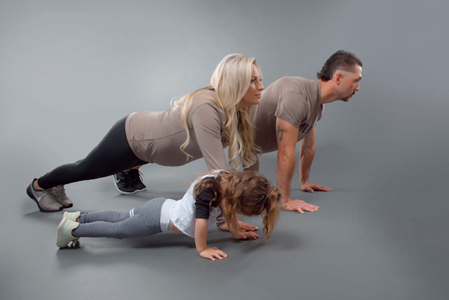 Brittany Renz-Family-Exercise
