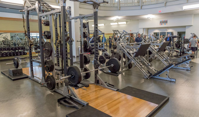 Fitness Center (U.S. Air Force photo by Staff Sgt. Wes Wright)