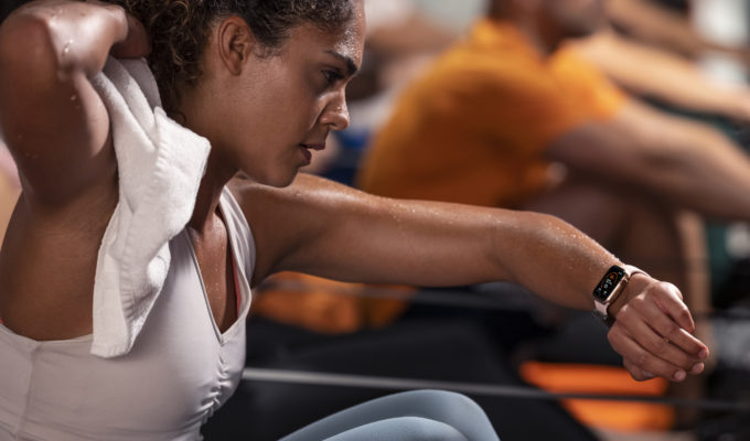 Orangetheory Fitness rower