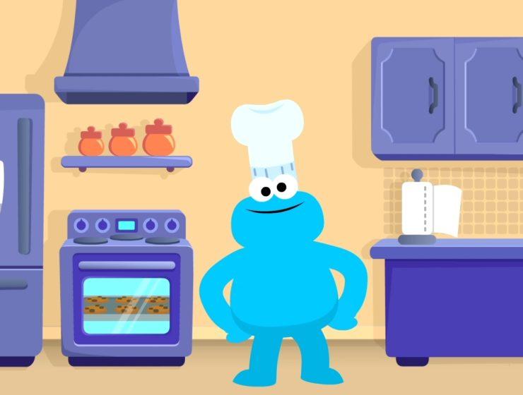 Cookie Monster Kitchen