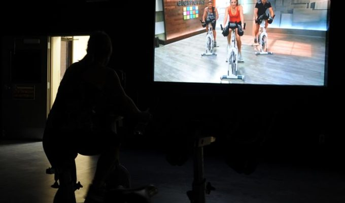 Virtual Fitness Cycling
