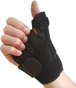 sprained thumb brace